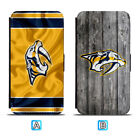 Nashville Predators Leather Case For iPhone X Xs Max Xr 7 8 Plus Galaxy S9 S8 $4.99 USD on eBay