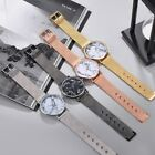 Fashion Marble Pattern Unisex Mesh Strap Wristwatch Casual Quartz Alloy Watch