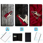 Arizona Coyotes Leather Passport Holder Cover Wallet ID Cards Document $7.99 USD on eBay