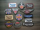 TRIUMPH Motor Racing Car Motorcycles BigBike Embroidered Patches Iron or Sew on $4.99 USD on eBay
