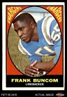 1967 Topps #130 Frank Buncom Chargers VG/EX $2.1 USD on eBay