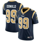 Aaron Donald #99 Los Angeles Rams Men's Navy Home Game Jersey $64.99 USD on eBay