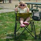 Baby Portable High Chair, Camping,Tailgate,RV-Black,Pink,Camo,Brown,Blue, Green