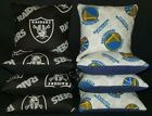 Set Of 8 Raiders Golden State Warriors Cornhole Bean Bags FREE SHIPPING on eBay