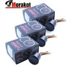 3x 52MM Led Digitall Gauge Meter EGT Exhaust Gas Oil Pressure Oil Temperature