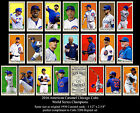 2016 CHICAGO CUBS T206 21 CARD SET WORLD SERIES KRIS BRYANT ROSS RIZZO MADDEN  !