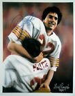 Doug Flutie signed Boston College 11X14 Photo Dual Sig In Arms