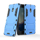 For Nokia 2.1/2V Slim Shockproof Rugged Heavy Duty Armor Stand Silicone TPU Case