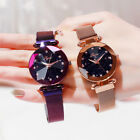 Ladies Watch Starry Sky Diamond Dial Women Bracelet Watches Magnetic Band love image