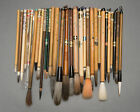 Writing brushes for calligraphy, Vintage shodo fude mede in Japan China