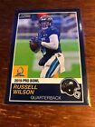 2018 Panini Instant Russell Wlson(1989 Score Version) -'19 Pro Bowl! #'d /270