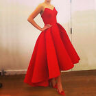 Women Lace Sequin Formal Wedding Evening Ball Gown Party Prom Bridesmaid Dresses