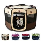 Pet Dog Puppy Cat House Tent Playpen Exercise Fence Portable Folding Travel Cage