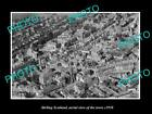 OLD LARGE HISTORIC PHOTO OF STIRLING SCOTLAND, AERIAL VIEW OF THE TOWN c1930 4