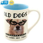 Enesco 4.5-Inch Hoots and Howlers Mug, 16-Ounce, Old Dogs