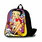 BETTY BOOP Custom Backpack Students School Bag Outdoor Backpack For Kids $32.55 USD on eBay