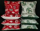Set of 8 Milwaukee Bucks Wisconsin Badgers Cornhole Bags ***FREE SHIPPING*** on eBay