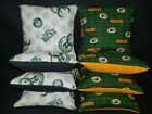 Set of 8 Milwaukee Bucks Green Bay Packers Cornhole Bags ***FREE SHIPPING*** on eBay