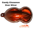 Candy Cinnamon Over Silver Basecoat Quart Car Vehicle Motorcycle Auto Paint Kit