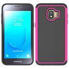 For Samsung Galaxy J2 Core/Dash/Pure Shockproof Rugged Armor Case+Tempered Glass