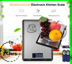 Digital Food Scale Kitchen Electronic LCD Scale 10 kg Weight Stainless Steel