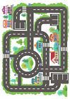 Children's Car Road Town Wallpaper A4 Sized Edible Wafer Paper / Icing Sheet