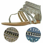 Not Rated Naughty Monkey Wilma Women's Lace Gladiator Sandals
