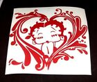 betty boop kiss -heart cuty sticker vinyl decal for car and others FINISH GLOSSY $5.05 CAD on eBay