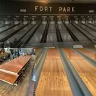 Beautiful Old Reclaimed Red Pine Bowling Lanes