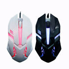 Wired USB Optical Gaming Colorful Light Mice Mouse For PC Laptop Desktop  AT