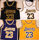 LeBron James 23 Los Angeles Lakers City Edition Men's Basketball Swingman Jersey