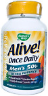 Nature's Way Alive! Mens 50+ Once Daily Ultra Potency Multi 60 tabs 7/2020 READ