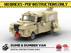 Lego MOC | Dumb & Dumber Dog Van | Custom Model | PDF Instructions (NO BRICKS)