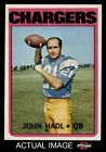 1972 Topps #15 John Hadl Chargers Kansas 8 - NM/MT $21.0 USD on eBay