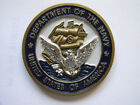 DEPARTMENT OF THE NAVY NSWCCD-SSES PHILADELPHIA PA CHALLENGE COIN