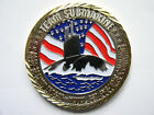 Team Submarine SEA07T Navy Undersea Warfare Mechanical Electrical Challenge Coin