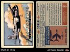 1952 Topps Wings #8 B-26 Invader GOOD