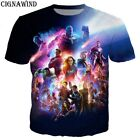 Avengers Endgame heroes 3d t shirt Short Sleeve Summer Men Women Tee Tops Marvel