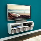 Floating Wall Mount TV Stand Console Entertainment Storage Media Center