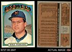 1972 Topps #613 Mike Ferraro Brewers EX/MT