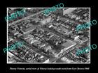 OLD LARGE HISTORIC PHOTO OF FITZROY VICTORIA, AERIAL VIEW OF GORE St c1960