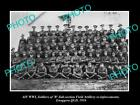 OLD LARGE HISTORIC PHOTO OF WWI AUSTRALIAN ANZAC SOLDIERS, FIELD ARTILLERY c1916