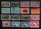 LOT OF 16 VALUES CIRCULATED STAMPS SPECIAL DELIVERY