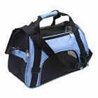 NEW Nylon & Mesh Pet Carrier Soft Sided Cat Dog Comfort Travel Tote Bag Travel
