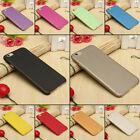 Shockproof Ultra-Thin Matte Hard Back Case Cover for iPhone 5S 6 6S 7 8 Plus X