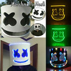 Kyпить Neu LED MarshMello DJ Maske Voller Kopf Helm Cosplay Marshmallow Party Bar Musik на еВаy.соm