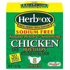 Herb-Ox Bouillon Chicken Instant Broth and Seasoning, 1.2 oz, 8 Count Pack of 1