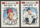 2019 TOPPS HERITAGE BASEBALL- BUY 1,  GET 1 FREE - YOU PICK #201-400 - FREE SHIP