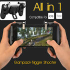 Mobile Phone Game Gamepad Controller Trigger Fire Button Set For PUBG Smartphone