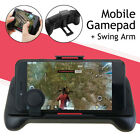 Mobile Smart Phone Gaming Gamepad Fire Controller Swing Handle Holder For PUBG